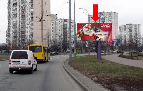 108381-Киев, Героев Сталинграда пр-т — ул. Приречная-биллборд (A)